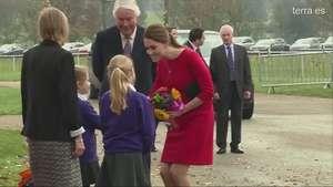 Kate Middleton no puede contener las lágrimas  Video: