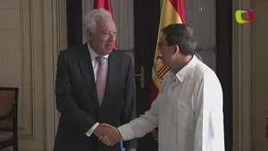 España le pide 'ritmo más rápido' a Cuba Video: