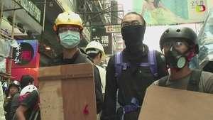 Detienen a líderes de protestas en Hong Kong Video: