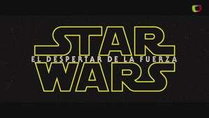 'Star Wars: El Despertar de la Fuerza' (teaser trailer) Video: