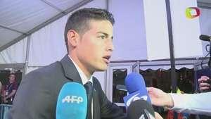 James Rodríguez, finalista a gol del año Video:
