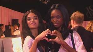 Detrás de cámaras del  Victoria's Secret Fashion Show Video: