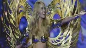 Los 'ángeles' de Victoria's Secret extienden sus alas en Londres Video: