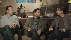 Famosos del elenco de 'Horrible Bosses 2' revelan su plan Video: