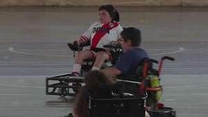 Niño argentino es todo un Messi sobre ruedas Video: