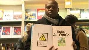 """Comunidad negra censura cómic de """"Tintín en el Congo"""" Video:"""