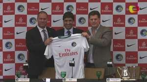 Presentación de Raúl, ex capitán del Real Madrid, en el New York Cosmos Video: