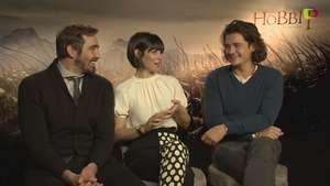 Orlando Bloom, Evangeline Lilly y Lee Pace, los elfos más 'hot' de 'The Hobbit 3' Video: