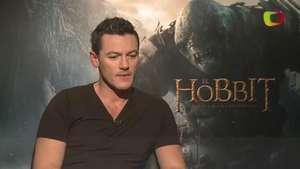 Luke Evans habla de The Hobbit: The Battle of the Five Armies Video: