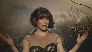 Evangeline Lilly habla de The Hobbit: The Battle of the Five Armies Video: