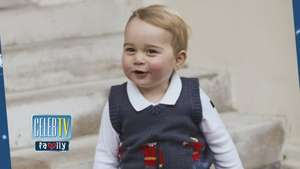 New Holiday Pics of Prince George! Video: