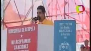 Maduro llama 'asesinos' a Aznar y a EEUU Video: