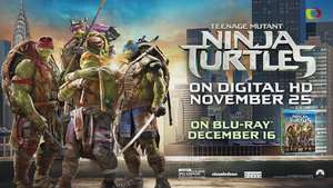 'Teengage Mutant Ninja Turtles' el regalo perfecto para la temporada de fiestas Video: