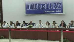 Hablan víctimas del conflicto colombiano con las FARC Video: