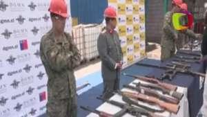 Más de 7000 armas destruidas en Chile Video: