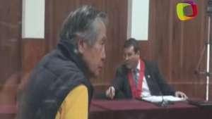 Fujimori, nuevamente en el banquillo de los acusados Video: