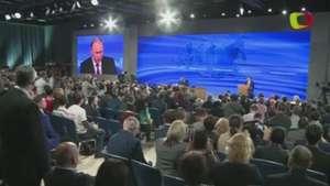 Putin promete recuperación económica Video: