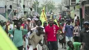 Presidente de Haití se acerca a la oposición Video: