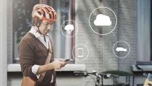 Los Volvo del futuro y las bicicletas, conectados para evitar accidentes Video: