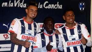 Rayados presenta refuerzos colombianos de cara al Clausura 2015 Video: