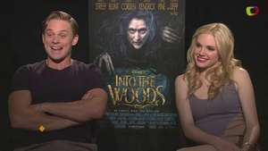 'Into The Woods': Billy Magnussen y Mackenzie Mauzy revelan sus gustos latinos Video: