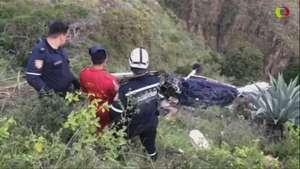 Accidente aéreo en Colombia cobra 7 vidas Video: