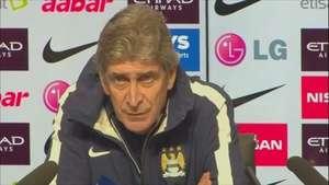 Pellegrini busca nuevo delantero para Manchester City Video: