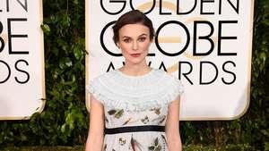 See Keira Knightley's Golden Globe's Bump Video: