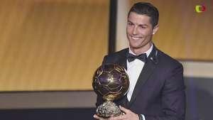 Cristiano Ronaldo gana Balón de Oro Video:
