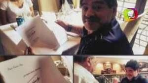 Fidel Castro envió carta a Maradona para desmentir rumores sobre su muerte Video:
