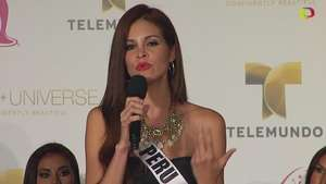 Miss Universo 2015: El espíritu bello también es importante para Miss Perú Video: