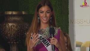 Miss Universo 2015: Desiré Cordero busca una segunda corona para España Video: