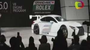 Lexus anuncia su incursión en la competición automovilística deportiva Video: