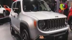 Jeep Renegade, una combinación de tecnología y tradición Video: