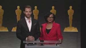 Óscar 2015: Chris Pine anuncia nominadas a Mejor Película Video: