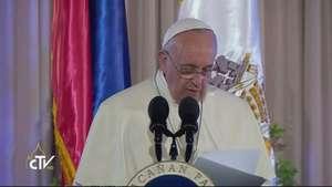 El Papa Francisco denuncia corrupción en Filipinas Video: