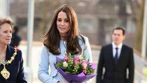 Kate Middleton Feels Baby Kick Video: