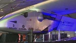 Avión solar tratará de dar la vuelta al mundo Video: