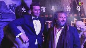 Promocionan en China última entrega de 'El Hobbit' Video: