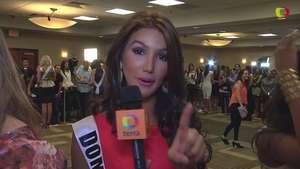 Miss Universo 2015: Miss R. Dominicana enseña su 'diccionario dominicano' Video: