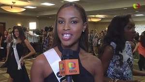 Miss Universo 2015: La más feliz de las reinas Miss Curacao Video: