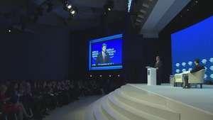 Conflictos internacionales, protagonistas de Davos Video: