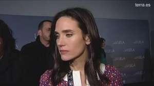 Los famosos españoles conocen a Jennifer Connelly Video: