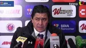 Luis Fernando Tena culpa al fuerte viento por juego deslucido en Veracruz Video: