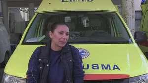Pobres servicios de salud pública por crisis en Grecia Video: