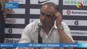Jornada 3,  Guillermo Vázquez, Pumas 3-2 Toluca, Clausura 2015 Video: