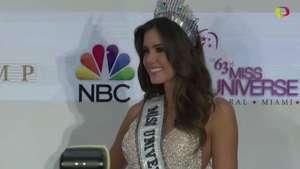 Nueva Miss Universo ve realizado el sueño de Colombia Video: