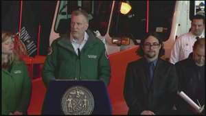 Nueva York se prepara para una nevada histórica Video: