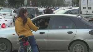 La odisea de ser mujer ciclista en El Cairo Video: