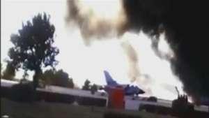 España: 10 muertos en accidente de F-16 griego Video: